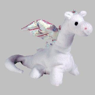 TY Beanie Baby   MAGIC the White Dragon (4th Gen hang tag) Toys & Games