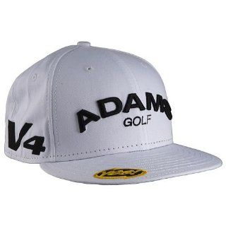 Adams Golf Flat Bill Hat (White, 7 1/8) New Era Fitted 59FIFTY Cap NEW  Sports & Outdoors