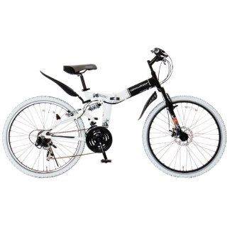 Suspension Front Disc Brake LED Light / Wire Lock Around Shimano 21 speed Mountain Bike 26 Inches Folding Aluminum Frame Doppelganger (Doppel Gann Gar) 703 Laid back  Folding Bicycles  Sports & Outdoors