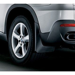 """BMW 82 16 0 414 674 X5 SAV Mud Flaps for Vehicles with 18"""" or 19"""" Wheels without Aero Kit Rear Set Automotive"""