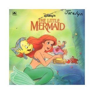 Disney's the Little Mermaid (Golden Look Look Book) Linda Hughes, Russell Hicks 9780307127877 Books