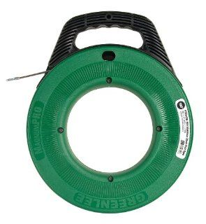 Greenlee FTSS438 100 Stainless Steel Fish Tape, 100 Feet x 1/8 Inch   Electrical Fish Tape