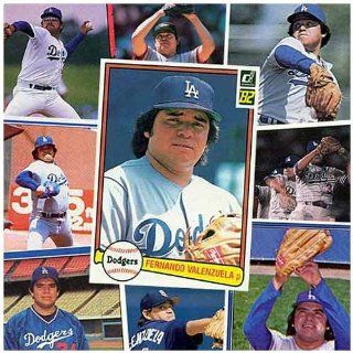 Various Brands Los Angeles Dodgers Fernando Valenzuela 20 Cards  Sports Related Trading Cards  Sports & Outdoors