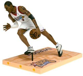 McFarlane Toys NBA Sports Picks Series 1 Allen Iverson Action Figure: Toys & Games