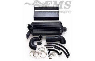 Fast Motorsports Black Top Mount Intercooler for 05 09 Subaru Legacy GT Automotive