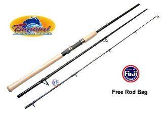 Tsunami TSCS 703H Spin Fishing Travel Rod 3pc 7' New  Sports & Outdoors