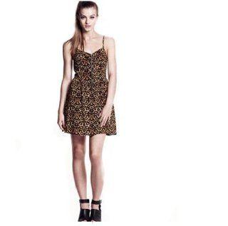 Sexy Leopard Print Dress Spaghetti Strap Hot Mini Dress Slim Fit Casual Evening Party Dress Size M  Bust 84cm Dress Length 72cm Equestrian Boots