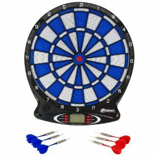 totes Electronic Dart Board   Black  Dartboards  Sports & Outdoors