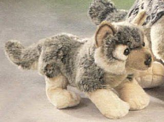 "9"" Wolf Plush Stuffed Animal Toy Toys & Games"