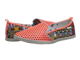 DV8 Ronan Womens Slip on Shoes (Orange)