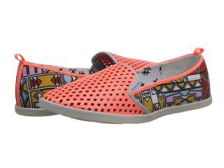 DV8 Ronan Womens Slip on Shoes (Orange)
