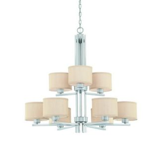 Dolan Designs Tecido 9 Light Chandelier