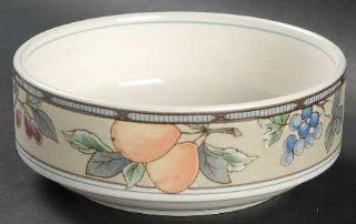 Mikasa Garden Harvest Fruit/Dessert (Sauce) Bowl, Fine China Dinnerware: Kitchen & Dining