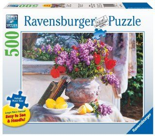 Ravensburger The Perfect Setup   500 Pieces Large Format Puzzle Toys & Games