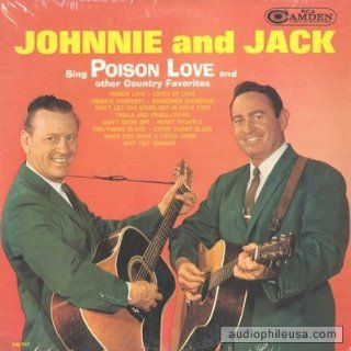 Johnny and Jack, Sing Posion Love and Other Country Favorites, [Lp, Vinyl Record, Camden, 747] Music