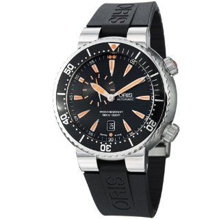Oris Divers Small Second Automatic Black Dial Stainless Steel Mens Watch 743 7609 8454RS at  Men's Watch store.