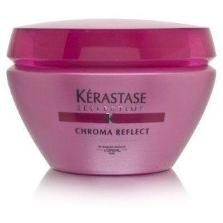 L'Oreal Kerastase Reflection Chroma Reflect Radiance Enhancing Masque 200g/6.8oz   for Very Sensitized Color Treated Hair : Hair And Scalp Treatments : Beauty