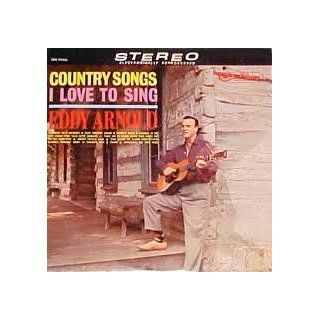 EDDY ARNOLD   country songs i love to sing RCA CAMDEN 741 (LP vinyl record) Music