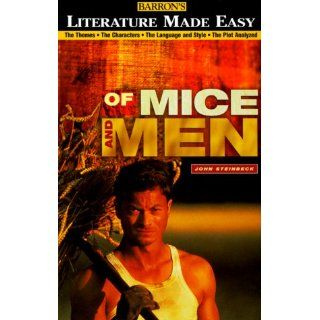 Of Mice and Men (Literature Made Easy): Ruth Coleman, Tony Buzan: 9780764108204: Books
