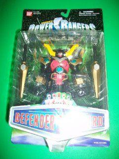 """Power Rangers Lost Galaxy Defender Torozord Megazord 5 1/2"""" MOSC MOC NEW Bandai: Toys & Games"""