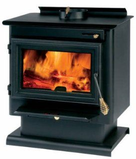 1500sqft Wood Stove   Electric Countertop Burners