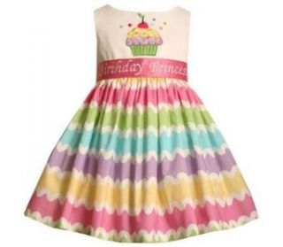 Bonnie Jean Girls 2 6x Birthday Dress, Multi, 2 Clothing