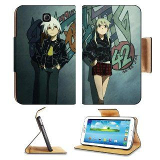 Soul Eater Character Art Samsung Galaxy Tab 3 7.0 Flip Case Stand Magnetic Cover Open Ports Customized Made to Order Support Ready Premium Deluxe Pu Leather 7 12/16 Inch (190mm) X 5 5/8 Inch (117mm) X 11/16 Inch (17mm) Liil Galaxy Tab3 Cases Tab_7.0 three