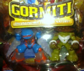 Gormiti Series 2 (2 Pack) Helico/Spores: Toys & Games