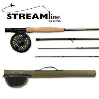 Orvis Streamline Fly fishing Outfit 795 4  Fly Fishing Rods  Sports & Outdoors