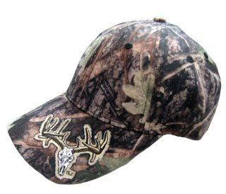 Rock Point RP796 Deer Skull True Timber Structured Cap, Camouflage : Outdoor Flags : Patio, Lawn & Garden