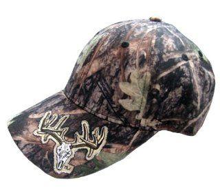 Rock Point RP796 Deer Skull True Timber Structured Cap, Camouflage : Outdoor Flags : Patio, Lawn & Garden