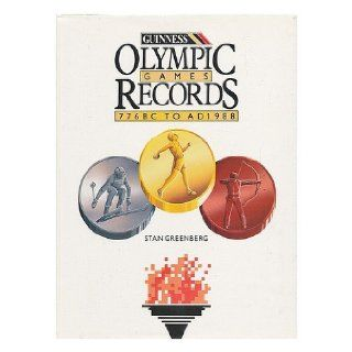 Olympic Games: The Records/776 Bc to Ad 1988: Stan Greenberg: 9780851128979: Books