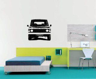 Wall Mural Vinyl Sticker Dealeship Car Land Rover Range Rover A1018   Wall Decor Stickers