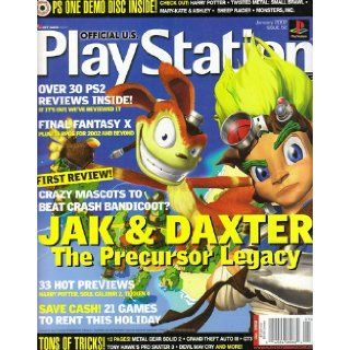 Playstation Magazine Issue 52 January 2002 Playstation Books