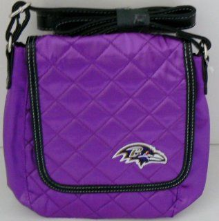 NFL Officially Licensed Baltimore Ravens Quilted Purse : Sports Fan Bags : Sports & Outdoors