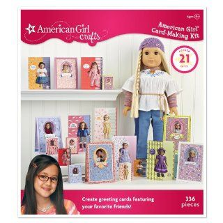 American Girl Crafts Card Making Kit, Historical Doll Toys & Games