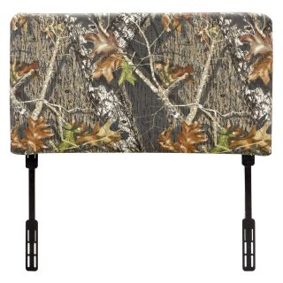 Kidz World Mossy Oak Camouflage Twin Headboard   Headboards