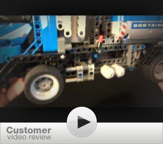 LEGO TECHNIC Container Truck 8052: Toys & Games