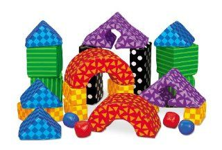 Easy Clean Soft Building Blocks Toys & Games