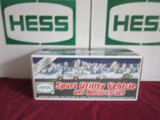Hess Sport Utility Vehicle and Motorcycles (2004 Hess Toy Truck): Toys & Games