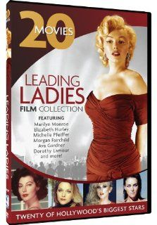 Leading Ladies Film Collection   20 Movie Set: Carole Lombard, Sally Field, Michelle Pfeiffer, Elizabeth Taylor, Marilyn Monroe, Sissy Spacek, Judy Garland, Hedy Lamarr, Elizabeth Hurley, Angela Lansbury, Various: Movies & TV