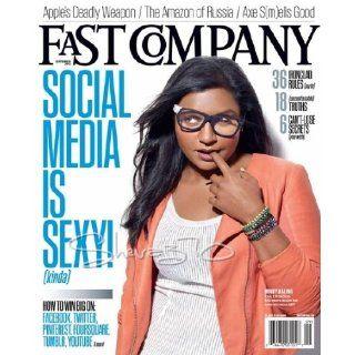 Fast Company (September 2012   Social Media is Sexy): Mindy Kaling, Max Chafkin, Anya Kamenetz, Jason Feifer, Daniel Grushkin, Ed Welburn, Steve Jobs, Dom Sagolla, Robert Safian, Brent Schlender: Books