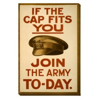 16 x 24 in. If the Cap Fits You Army Poster Wall Art   Art Prints