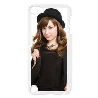 American Singer & Actress Demi Lovato Print on Hard Case Cover for ipod touch 5 DPC 09874: Cell Phones & Accessories