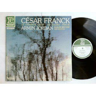 Cesar Franck Le Chasseur Maudit / Les Eolides / Psyche LP   Erato   NUM 75251 Armin Jordan & Basler Sinfonie Orchester Music