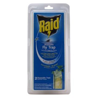 PIC Raid Disposable Fly Traps   2 Pack   Flying Insects