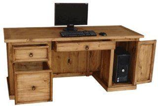 San Miguel Rustic Pine Desk