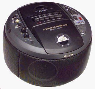 Aiwa CSDMR1 CD, Stereo, Radio and Cassette Recorder : MP3 Players & Accessories