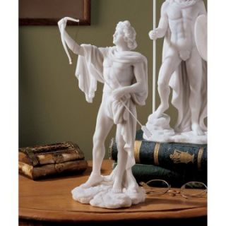 Design Toscano 11.5 in. Apollo Classical Greek God Statue   Sculptures & Figurines