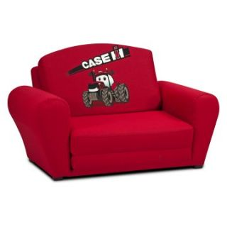 Kidz World Case International Harvester Red Sleepover Sofa   Specialty Chairs